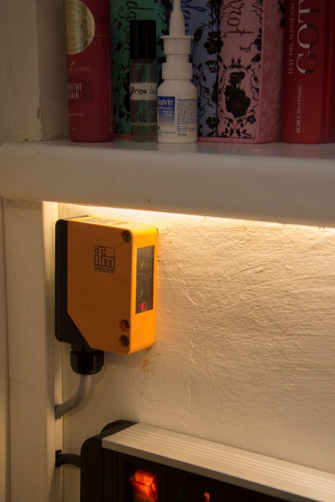 Lichtschranke schaltet Licht