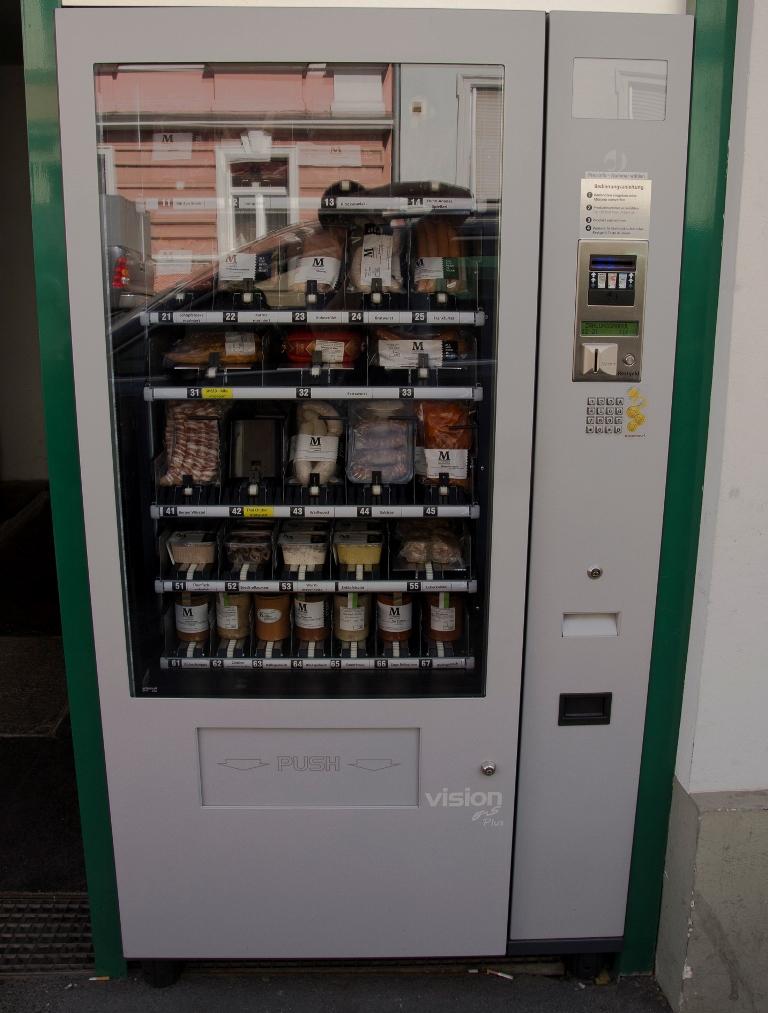 Verkaufsautomaten #1 Der Fleischautomat